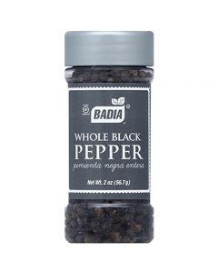 Whole Black Pepper Pimienta Negra Entera Badia 56.7g