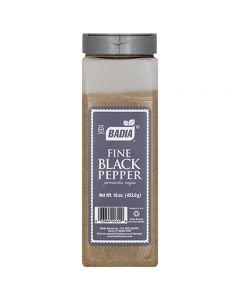Fine Black Pepper Pimienta Negra Badia 453.6g
