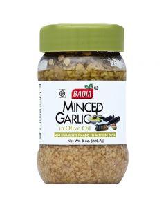 Minced Garlic In Olive Oil Ajo Finamente Picado en Aceite De Oliva Badia 226.7g