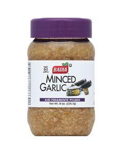 Minced Garlic Ajo Finamente Picado Badia 226.7g