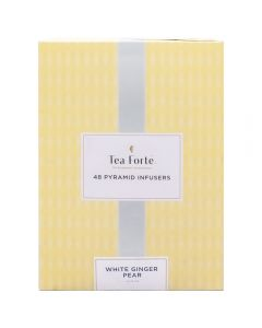 Tea Forté 48 Pyramid Infusers White Ginger Pear