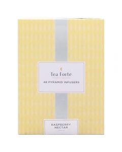 Tea Forté 48 Pyramid Infusers Raspberry Nectar