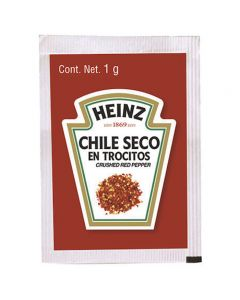 Heinz Chile Seco en Trocitos Crushed Red Pepper 1g