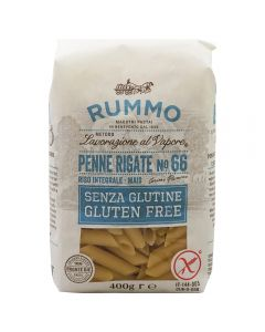 Pasta Gluten Free Penne Rigate No. 66 Rummo 400g