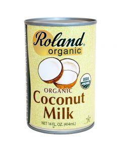 Leche de Coco Orgánica Roland 414ml
