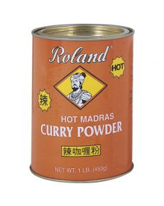 Polvo de curry Roland 452g