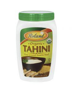 Tahini (Pasta de Ajonjolí Puro) Roland 453g
