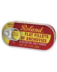 Filete Anchoa en Aceite de Oliva Roland 56g