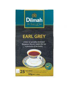 Early Grey Tea Dilmah Caja con 25 pzas