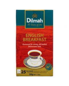 English Breakfast Tea Dilmah Caja con 25 pzas