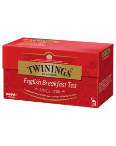 Té English Breakfast Twinings Caja con 25 pzas