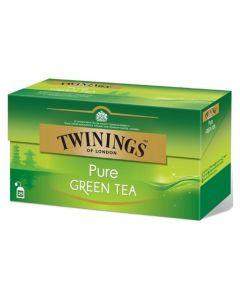 Té Verde Puro Twinings Caja con 25 pzas