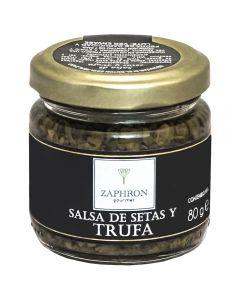 Salsa de Setas y Trufa Zaphron 80g