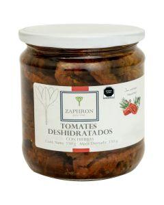 Tomate Deshidratado con Hierbas Zaphron 350g